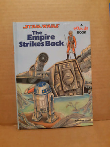 Star Wars The Empire Strikes Back A Pop-Up Book Vintage 1980