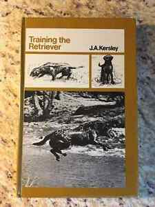 Book - Training the Retriever by J A Kersey