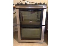 Zanussi freestanding Electric Oven with ceramic hob