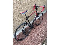 2014 Giant Defy 1 Road Bike (Size Large / 55.5) Racing Red & Black