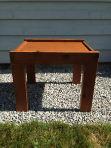 Wood End Tables - New Reduced Price