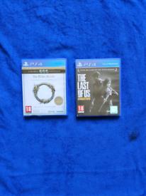Last of Us Remastered & Elder Scrolls Online