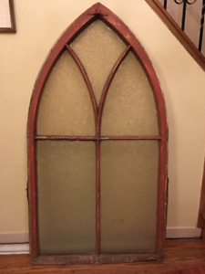 Large Antique Window from 19th-Century Ontario Church