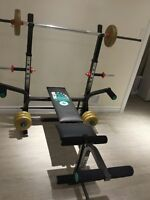Fitness Weight Bench, Cap barbell, Home gym