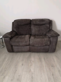 Sofa 3 seater and 2 seater both recliners (Good condition)