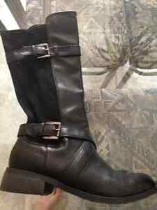 Women's Suede and Leather Boots