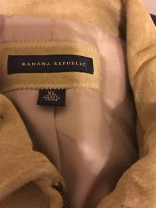 1e3c832f5561 Banana Republic Thick Suede Leather Jacket - Tough and Awesome
