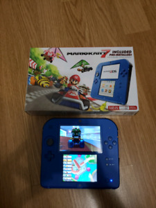 2DS with Mario Cart 7