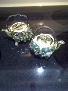 Sea Shell Tea Pots