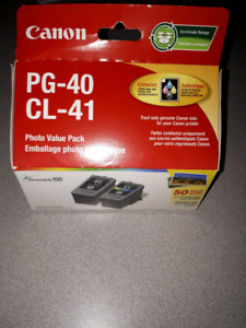 Printer ink for sale Canon printer PG - 40 CL - 41