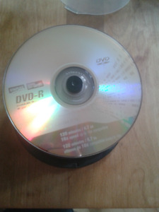 50 blank DVD s, Also have assorted jewel cases