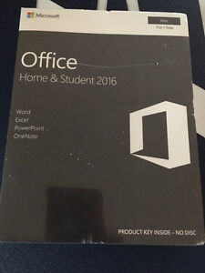 Microsoft Office Home and Student 2016 Mac or PC