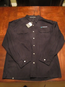 Stormtech snap closure work shirt- New Tags attached