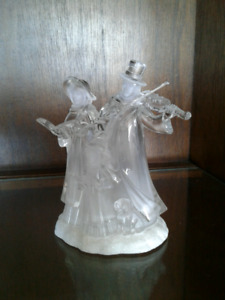 Acrylic Christmas Carolers Figure
