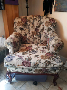 Chair + matching love seat
