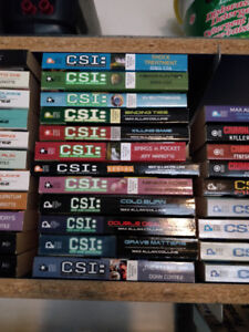 CSI - Criminal Minds - Bones - Novels