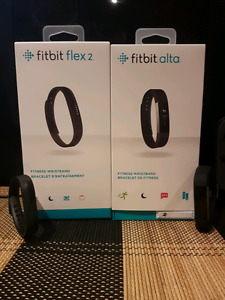 Selling Fitbit Alta and Fitbit Flex 2