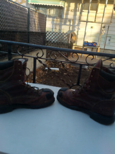 Work boots size 13 and size 11