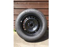 VW Golf MK6 Steel wheels and Goodyear 195/65/R15 tyres.