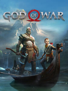 God of war 2018 in great cond