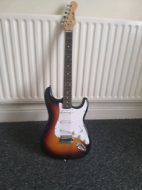 Guitar electric with case