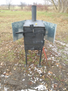 Wood stove for garage or outside intown