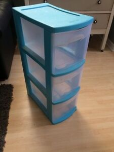 Tall Plastic Storage