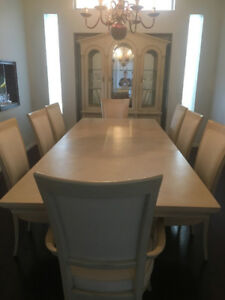 Stanley Ash and Oak Dining Suite