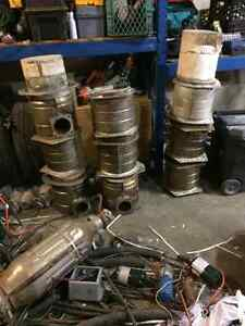 DPF DOC systems wanted! New or junk don't matter!