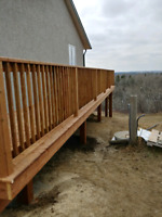 Deck and fence specialist