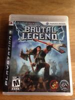 Jeux play station 3 brutal legend PS3