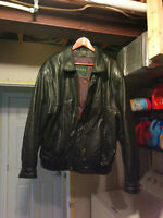 Men's Danier Leather Jacket - Black, Large ($50 OBO)