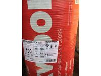 Rockwool sound insulation 100mm