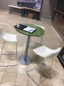 42 inch Cafe Height Table Acrylic Resin
