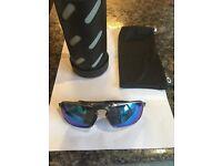 Oakley badman plasma sunglasses with receipt
