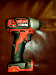 Milwaukee Impact Driver and Hammer Drill