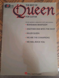 Queen Guitar Tab book