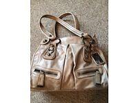 Pepe Moll light beige/nude handbag