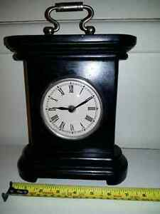 Clock antique, brand new.  Made out of wood, heavy and durable.