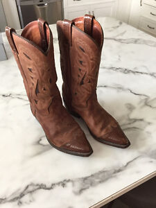 Canadian Made Leather Cowboy Boots