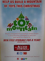 HELP SUPPORT CTV TOY MOUNTAIN