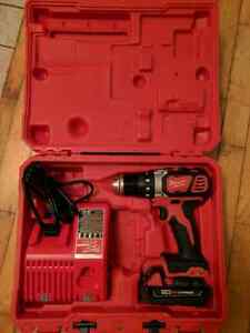 Milwaukee Drill - Comes with Battery, Charger, and Case!