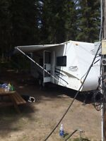 26ft Feather Lite trailer with slide out