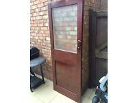 Old 60/70s internal door.