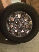 Ford Rims with Goodyear Wrangler Tires