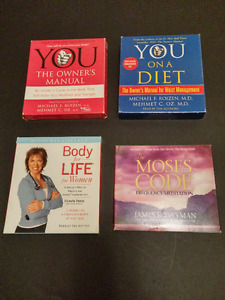 Lifestyle Books on CD Set of Four--Learn while you commute!