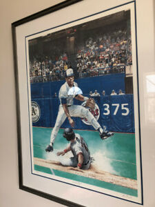 TURNING POINT  BLUE JAYS' ROBERTO ALOMAR - LIMITED EDITION PRINT