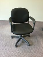 8 Chaise inclinables en tissus bureau, 8 reclinable office chair