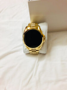 Michael Kors Access Touch Screen Gold Bradshaw Smartwatch