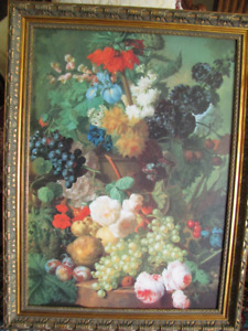 Outstanding Large Floral picture---now reduced!!!